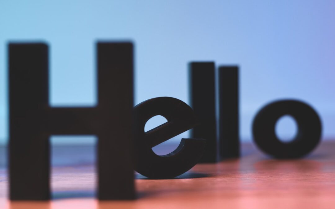 Relearning How to Say Hello and Goodbye